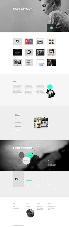 Biography - Responsive One Page Template by ~DarkStaLkeRR on deviantART