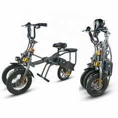 Cheap Electric Scooters, Electric Tricycle, Folding Bicycle, Balance Bike, 3rd Wheel, Alloy Wheel, Cool Things To Buy, Trike Scooter, 3 Wheel Scooter