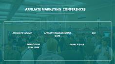 Top 5 Digital Marketing Conferences on Affiliate Marketing