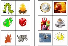 Material per imprimir. Imatges i paraules, lletres i síl·labes. Lectures, Early Childhood, Clip Art, College, Teaching, Education, Holiday Decor, School, Projects