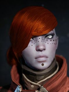Character Heads Creation Pipeline and Rendering in <i>Destiny</i> (SIGGRAPH 2014)
