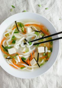 ... MISO NOODLE SOUP (7 Ingredients)... The immune boosting soup! More