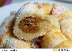 Martinské rohlíčky recept - TopRecepty.cz Doughnut, Muffin, Breakfast, Food, Morning Coffee, Muffins, Essen, Yemek, Morning Breakfast