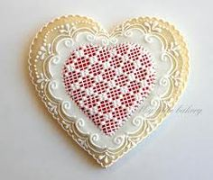 lace cookies royal icing - Buscar con Google