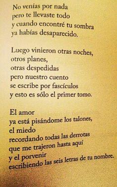 Diego Ojeda Poetry, Amor, Favorite Quotes, Book Quotes, Romanticism, Words, Lyrics, Poetry Books, Poem