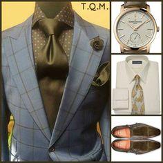 SUNDAY/SPECIAL OCCASION STYLE: Afd Custom Clothiers(Suit)-Vacheron Constantin(Watch)-Paul Fredrick(Shirt Tie/Option)-Santoni(Shoes)