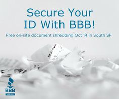 Free On-Site Document Shredding in South SF!