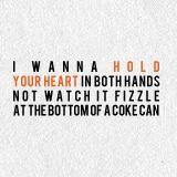 Ed Sheeran~Drunk. I swear this guys is a lyrical genius.