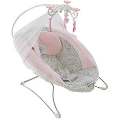"Fisher-Price Deluxe Bouncer - Rose Chandelier - Fisher-Price - Babies ""R"" Us"