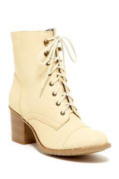 Bucco Karolina Lace-Up Bootie by Brilliant Booties on @HauteLook