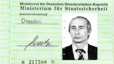 Vladimir Putin was posted to Saxony by the KGB for four years from 1985. His Stasi pass appears to have escaped notice because it was kept in the wrong file