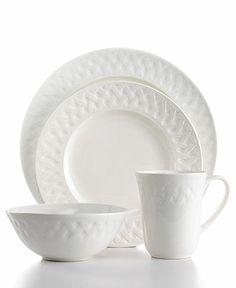 Martha Stewart Collection Dinnerware, French Cupboard 16 Piece Set - Casual Dinnerware - Dining & Entertaining - Macy's