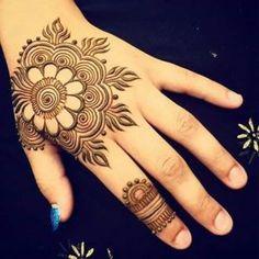 Simple And Easy Mesmerizing Arabic Mehndi Designs | New Latest ...