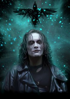 "Brandon Lee in the movie ""The Crow"" (1994)-Brandon Bruce Lee (February 1, 1965 – March 31, 1993) was an American actor and martial artist. Description from pinterest.com. I searched for this on bing.com/images"