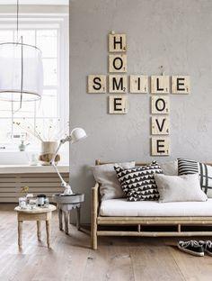 Fabulous Letras una tendencia para personalizar las paredes