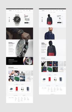 Nixon eCommerce Web Design | BASIC™ | A Branding & Digital Design Agency