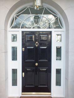 Our Banham Locks on this pretty front door. Credit: @todayfocuson ...