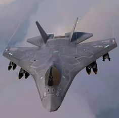 E se... Boeing X 32, Stealth Aircraft, Fighter Aircraft, Fighter Jets, Military Jets, Military Weapons, Military Aircraft, Aircraft Design, Aerospace Engineering