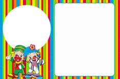 Clown Party, Circus Party, Thankful Tree, Circus Birthday, Artwork Images, Feelings And Emotions, Learning Games, Scrapbook Pages, Crafts For Kids