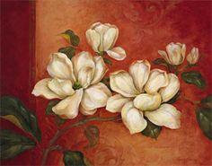 Magnolias Lámina