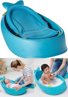 Baby Bathtub Polyester Sling Newborn Cradling Non Slip Seat Bathing  Bathroom New   Http:/