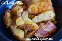 Roasted Potatoes - Tusker House - The Disney Chef