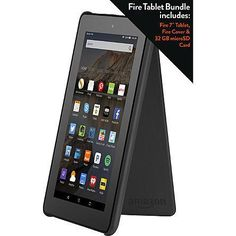 "BACK AGAIN - Live Now Amazon 7"" Fire Tablet  Fire Cover  32GB Micro SD Card for $54.99  Tax  Free Shipping... http://www.lavahotdeals.com/us/cheap/live-amazon-7-fire-tablet-fire-cover-32gb/43916"