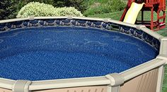 24 Ft. Round Overlap Swimming Pool Liner  25 Gauge (Waterfall) Overlap  Liners