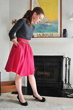 03.18.12 | pop of raspberry by elegant musings, via Flickr