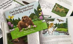 Clark the Mountain Beaver and His Big Adventure! NOW AVAILABLE through http://clarkthemountainbeaver.com/book/ and https://amazon.com