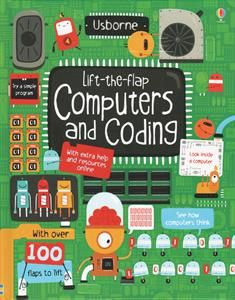 Got a little techie in the house? Computers and Coding is a great way to show what goes on in computers, with flaps to lift and look beneath! Here now in my shop!