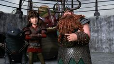 RTTE | Hiccup | Stoick | Toothless | Skullcrusher