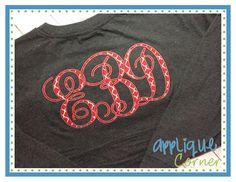 Desirable applique fonts images applique designs embroidery