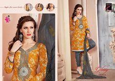 4de63622da Fancy Ladies Suits - Ladies Cotton Fashion Wear Suit Manufacturer from  Ahmedabad