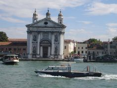 Venice, from our water taxi