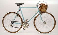 Rene Herse bicycles are considered to be the most perfect examples of the hand crafted French randonnee touring cycle. almost every part custom designed.