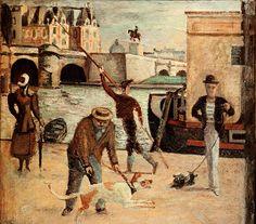 Balthus, Le Pont-Neuf, 1928