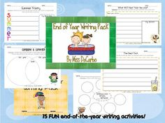 End-of-Year Writing Pack!