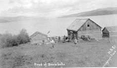 Hudson's Bay Trading Post at Telegraph Creek, Head of Dease Lake - 1900