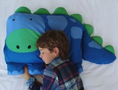 Dinosaur Shaped Pillowcases