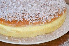 tropezienne recette c'est maman qui l'a fait (3) Tiramisu, Filet Mignon, Beignets, A Food, Patisserie, Cheesecake, Bread, Sugar, Baking