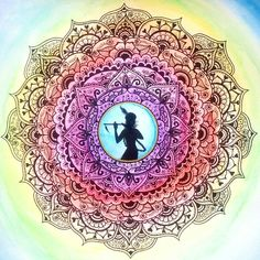 Krishna Mandala / Artist: Anna Kuzmina