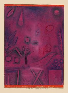 Paul Klee - Landscape for Lovers, 1924                                                                                                                                                                                 More