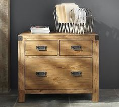 Hendrix Lateral File Cabinet #potterybarn
