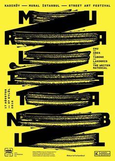 poster design // graphic design // typography