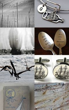 Sailing  by Violeta Warner on Etsy--Pinned with TreasuryPin.com