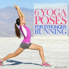 Yoga for Stronger Running - Train your legs individually and together they become a powerhouse! #yoga #running #legs #workout