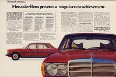 Privé, Mercedes Benz W123 Ad  , mijn huidige wagen..