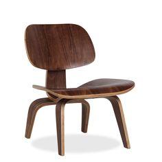 Silla PLYWOOD NOGAL (Sillas Icono del Diseño) - LCW Sillas de diseño, mesas de diseño, muebles de diseño, Modern Classics, Contemporary Designs...
