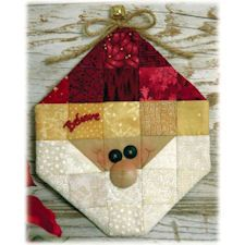 Quilted Santa